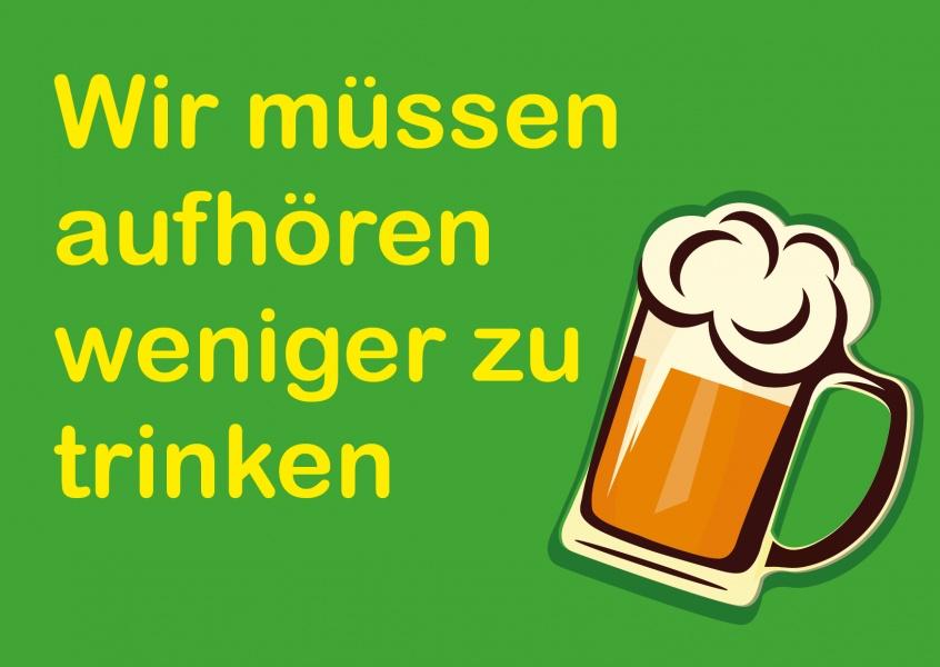 Trink! | Humor | Echte Postkarten online versenden