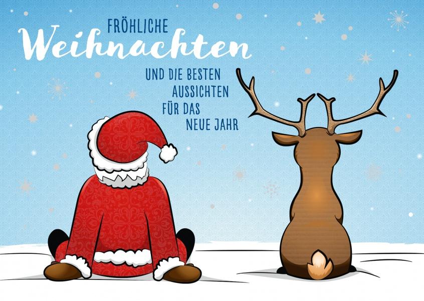 beste aussichten frohe weihnachten echte postkarten online versenden