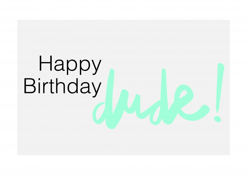 Birthday Cards With Photo Upload Free Dude Happy Send Real Postcards
