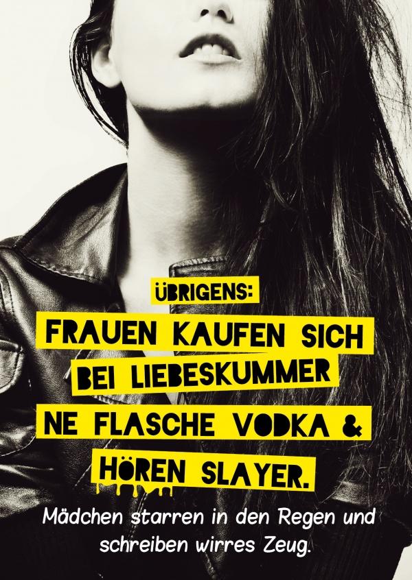 Liebeskummer? Vodka & Slayer! | Einfach so | Echte
