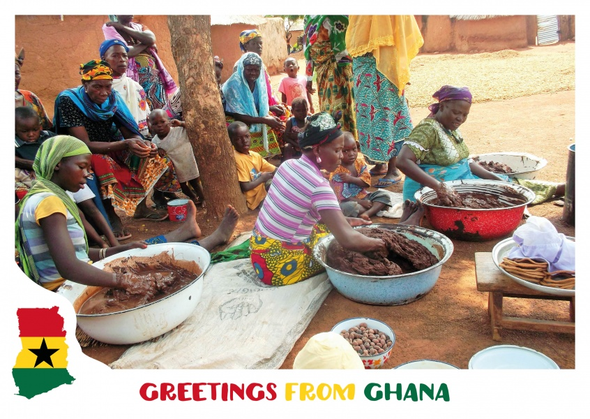 Greetings from ghana vacation greetings send real postcards online m4hsunfo