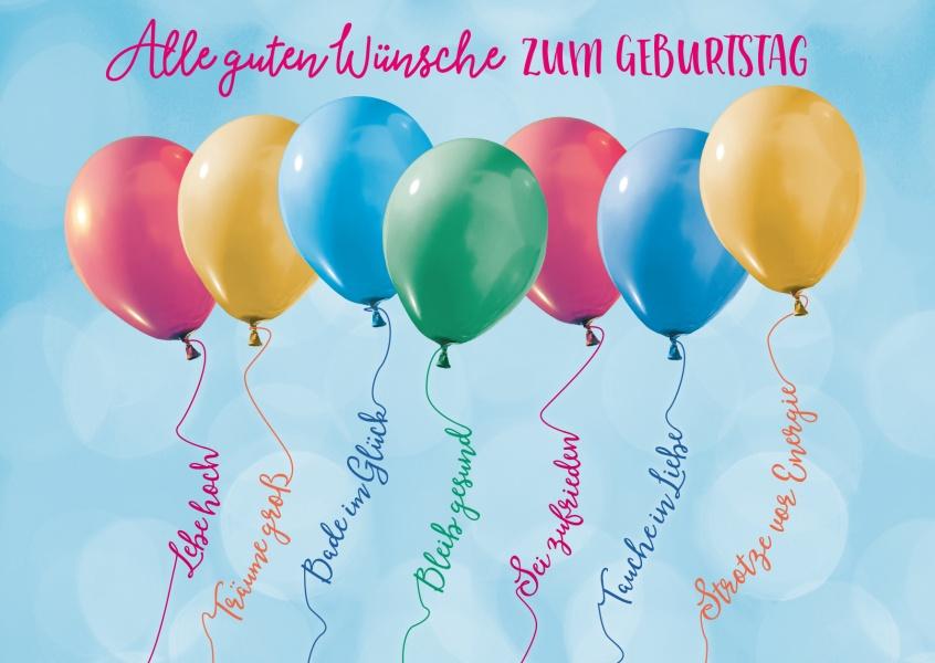 Alle guten Wünsche zum geburtstag | Happy Birthday | Echte Postkarten online versenden