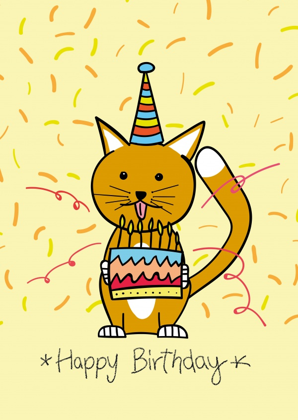 Free Printable Happy Birthday Cards Online   Customized ...