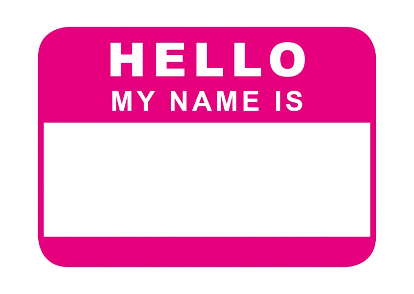 hello my name is pink just because cards quotes send real postcards online. Black Bedroom Furniture Sets. Home Design Ideas