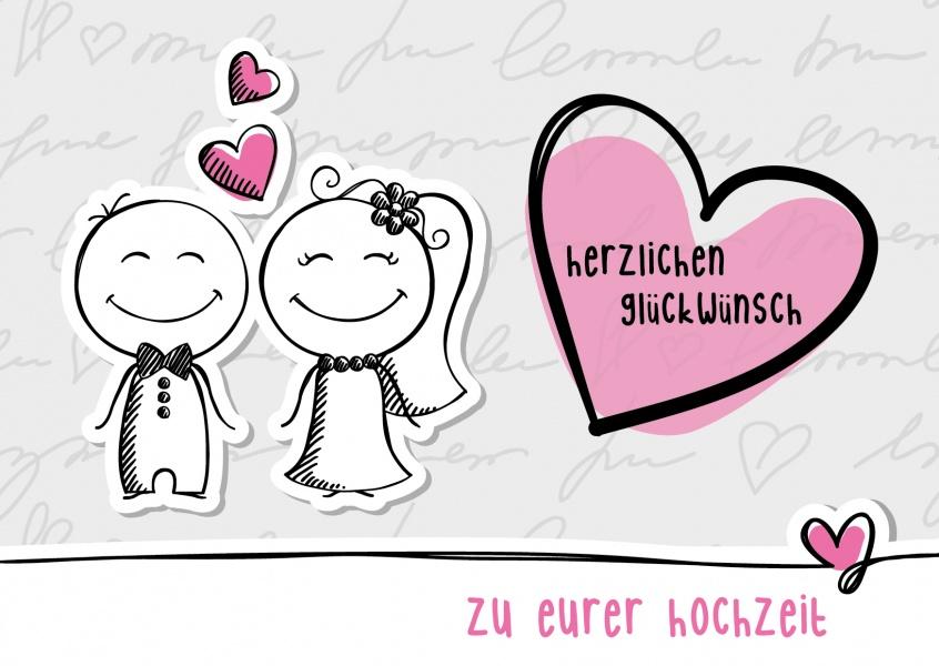 Herzlichen Glückwunsch zu Eurer Hochzeit  Glückwünsche  Echte ...