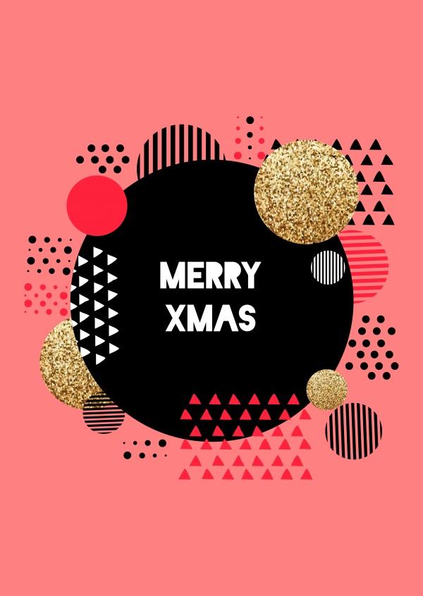 christmas circles frohe weihnachten echte postkarten. Black Bedroom Furniture Sets. Home Design Ideas