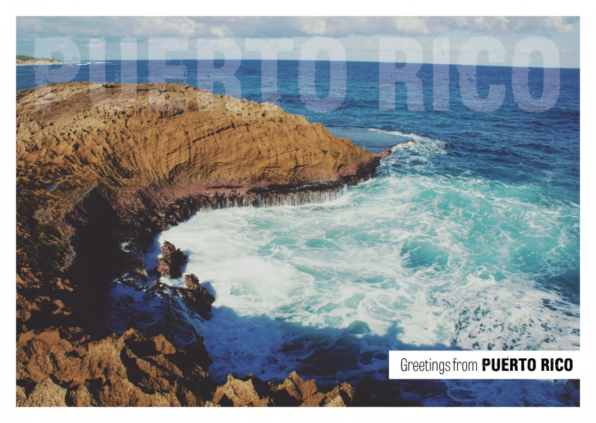 Puerto rico breakwater vacation greetings send real postcards puerto rico breakwater vacation greetings send real postcards online m4hsunfo