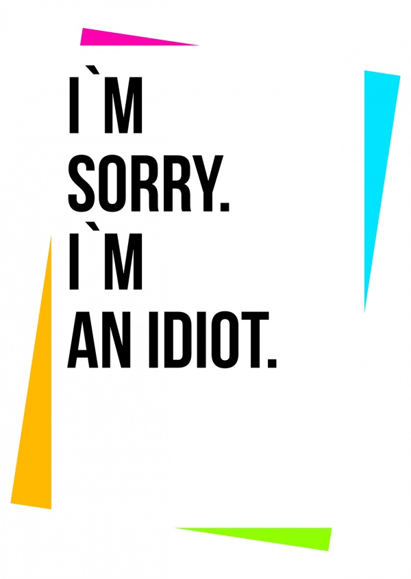 Create Your own Sorry Cards Online | Printed & Mailed For You International | Free Shipping | Print Your Sorry Cards | Customized Photo Cards.
