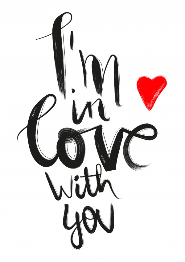 Free international shipping i love you cards online for I love design