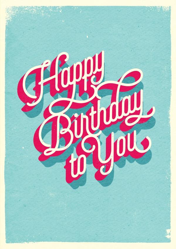 Vintage Birthday Greetings Happy Birthday Cards Send