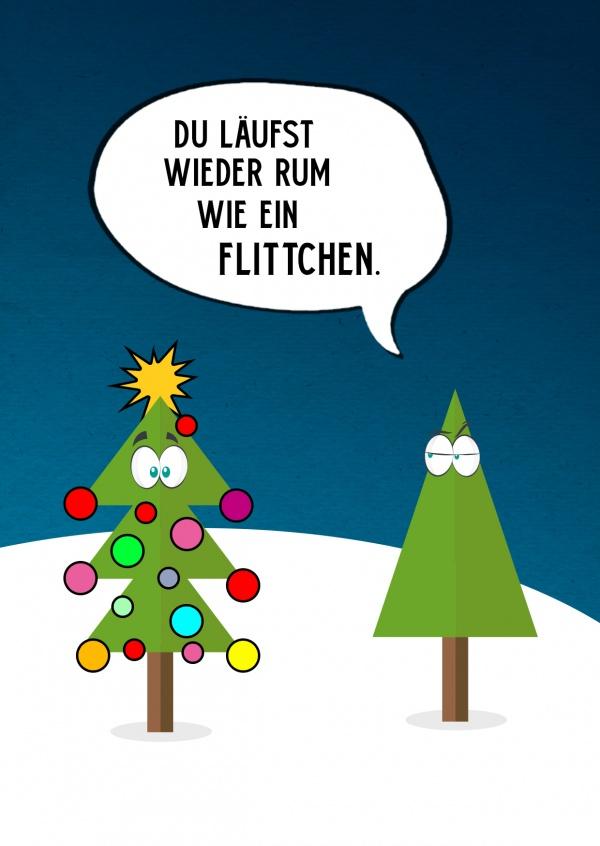 Wie ein Flittchen   Weihnachtskarten   Echte Postkarten ...