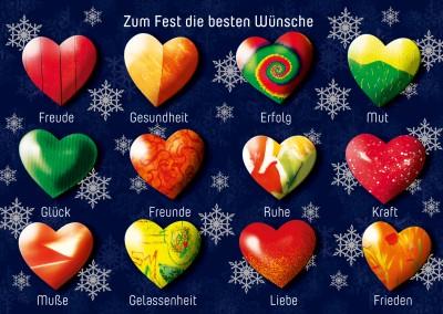 merry christmas and a happy new year weihnachtskarten echte postkarten online versenden