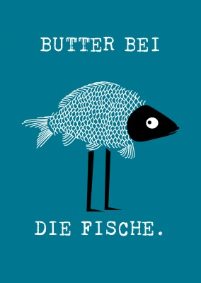 illustration lustiger fisch