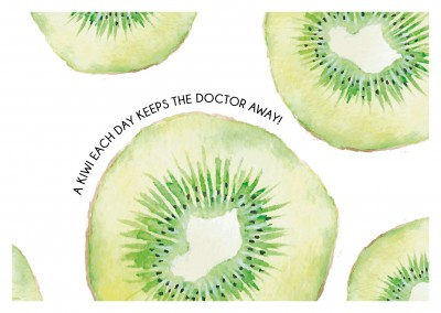 Kiwis Illustration