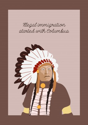 Illegal immigration started with Columbus