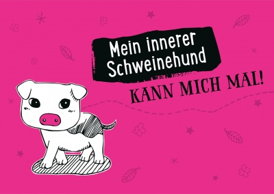 Schweinehund Illustration