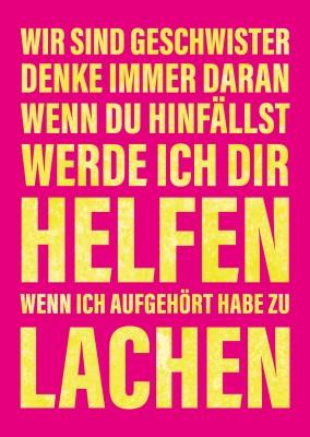 Tsch ssikowski humor echte postkarten online versenden - Spruch geschwister ...