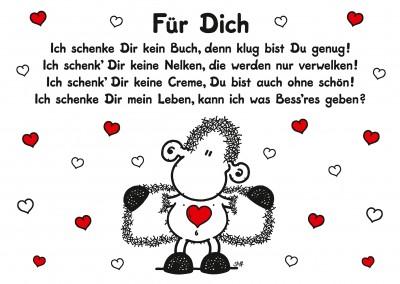 Ich liebe dich von oben bis unten! | sheepworld | Echte Postkarten ...