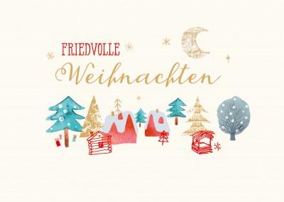 Postkarten grusskarten weihnachtskarten online - Weihnachtskarten kostenlos verschicken ...