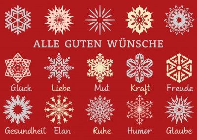 Wie ein flittchen weihnachtskarten echte postkarten online versenden - Weihnachtskarten mit spruch ...