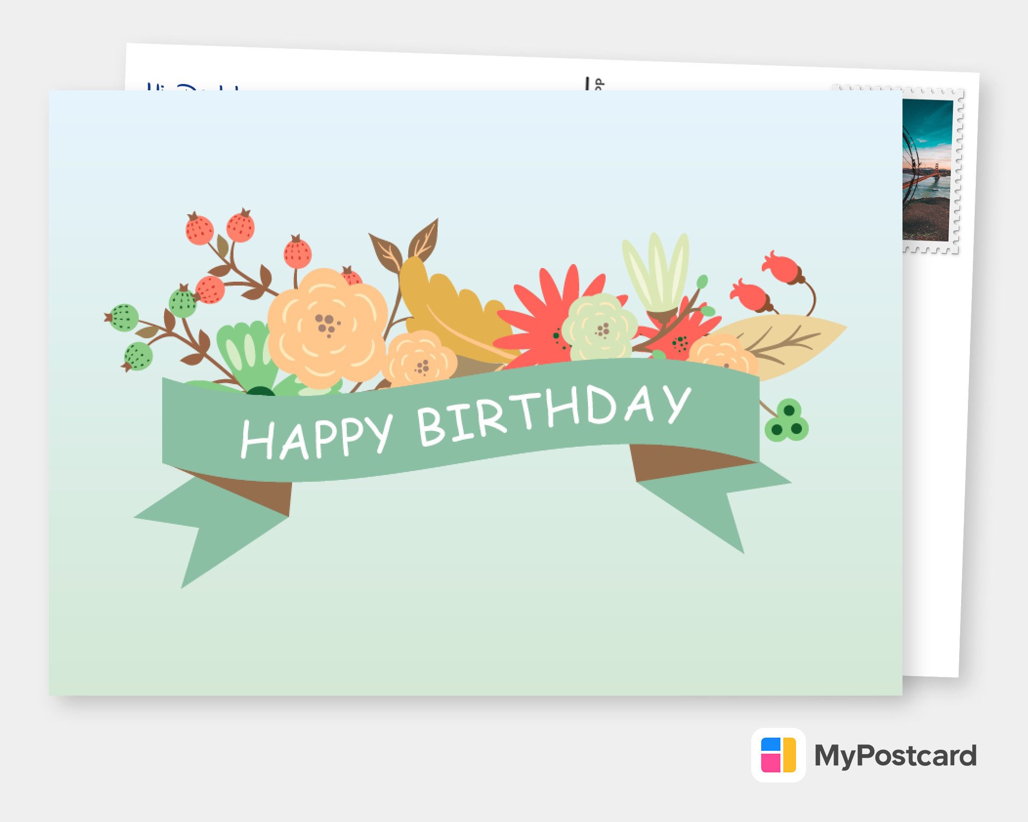 Create Your Own Happy Birthday Cards  Free Printable Templates  Printed &  Mailed For You  Photo Cards, Photo Postcards, Greeting Cards Online,