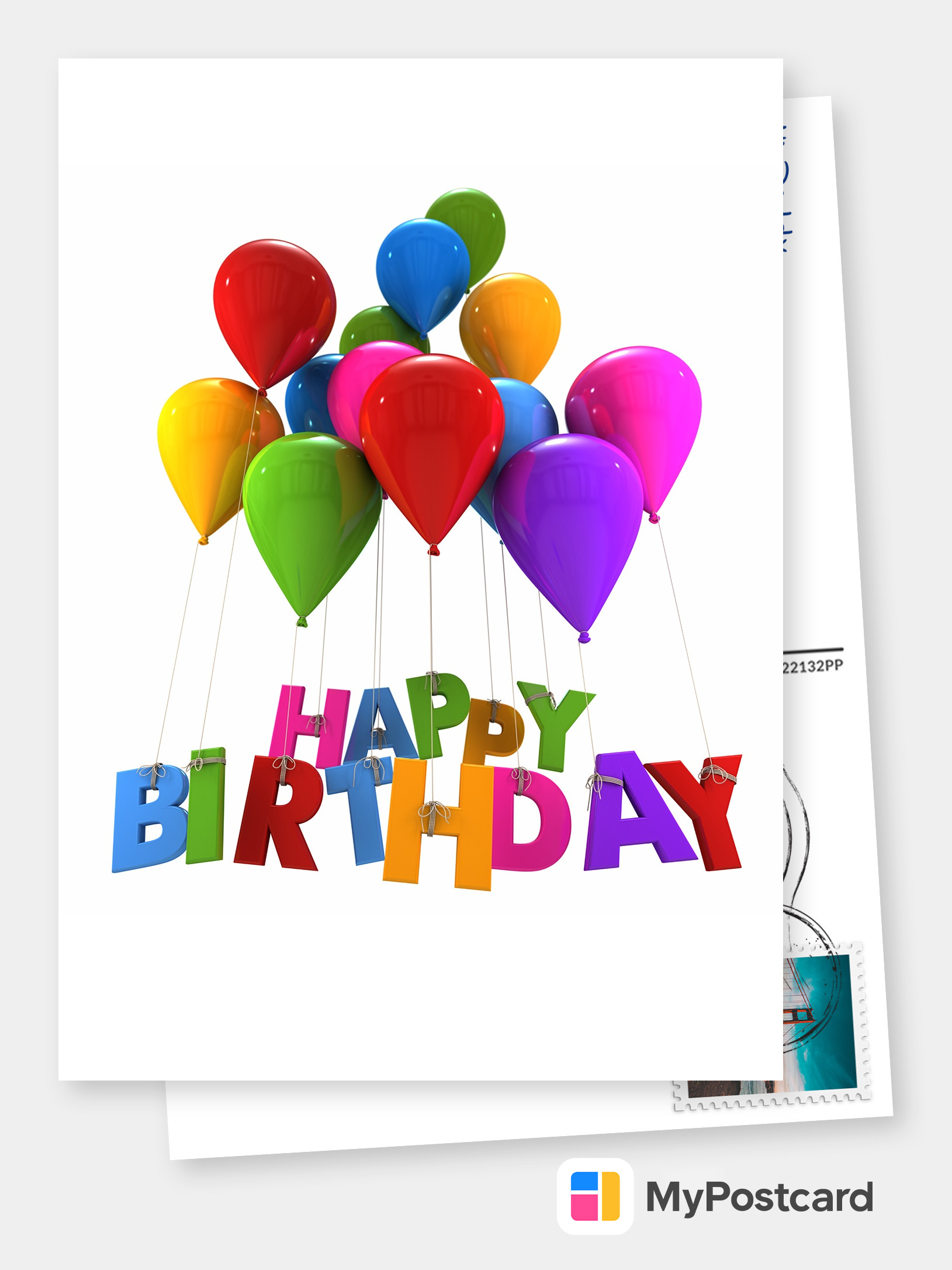 Personalized Happy Birthday Cards Online Printed Mailede For You International Free Shipping Postage Delivery Photo Cards Postcards Greeting Cards