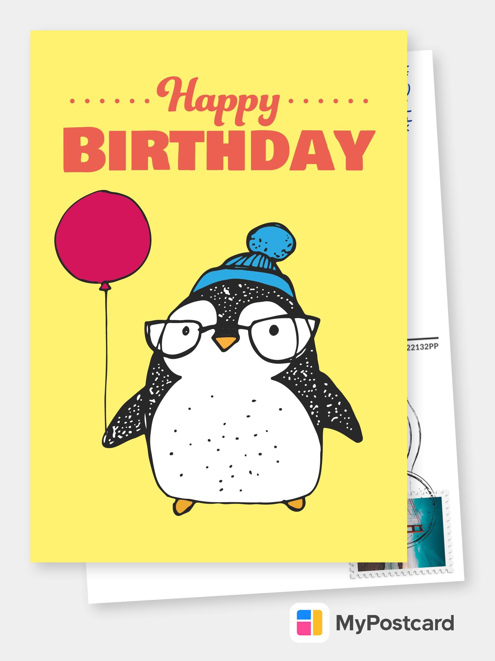 Create A Free Printable Birthday Card Online